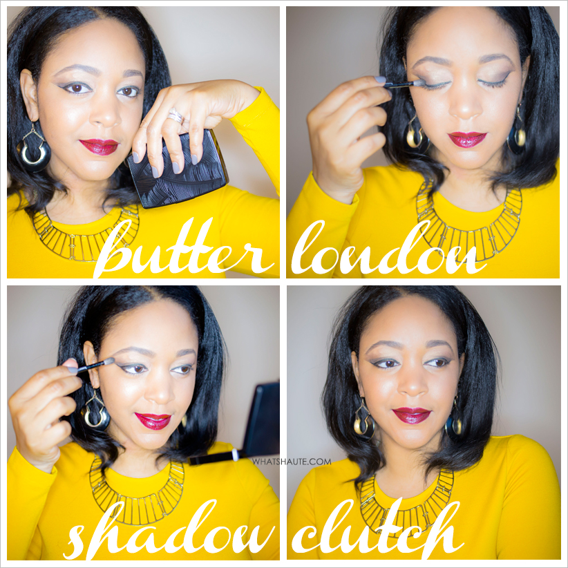 butter LONDON Shadow Clutch Natural Charm palette - beauty review