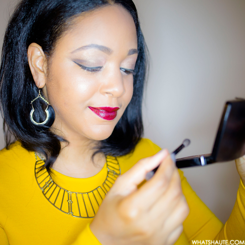 butter LONDON Shadow Clutch Natural Charm palette - beauty review, MAC Limited Edition Giambattista Valli Collection Lipstick - Eugenie