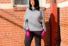 Winter Style – Capes, Bows and Flares