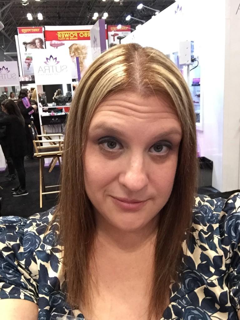 Shiny, Healthy Summer Hair Magic Sleek Hair Straightening - results