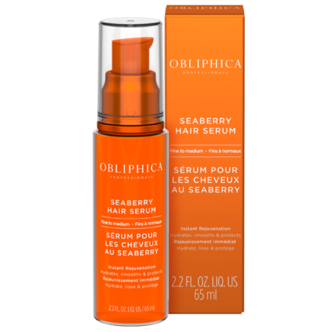 Shiny, Healthy Summer Hair Obliphica Professional Seaberry Serum – Fine to Medium