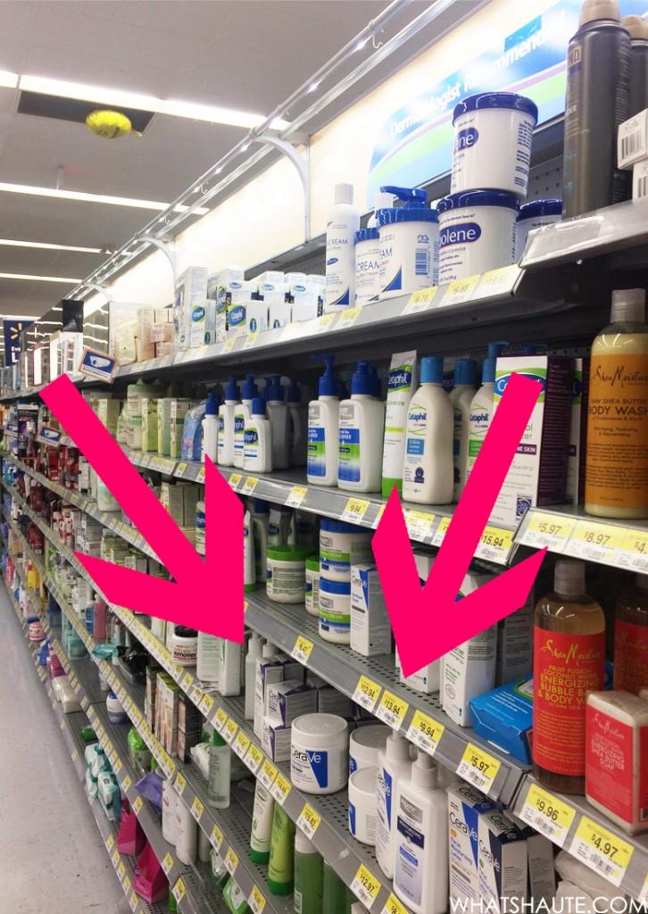 CeraVe at Walmart