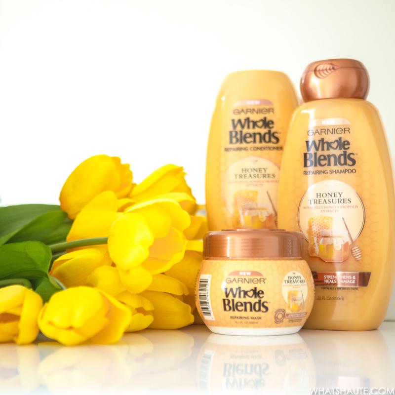 Garnier Whole Blends Repairing Hair Care Honey Treasures line