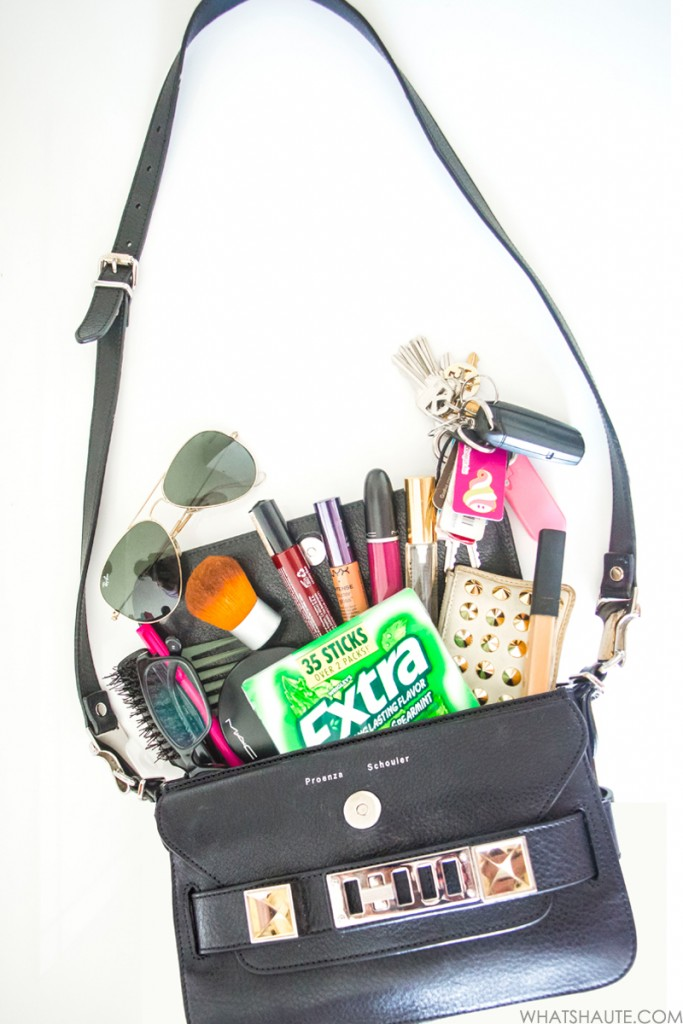 What's in my bag - Extra Spearmint gum