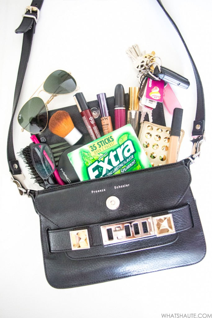 What's in my bag - Proenza Schouler PS11 & Extra Spearmint gum