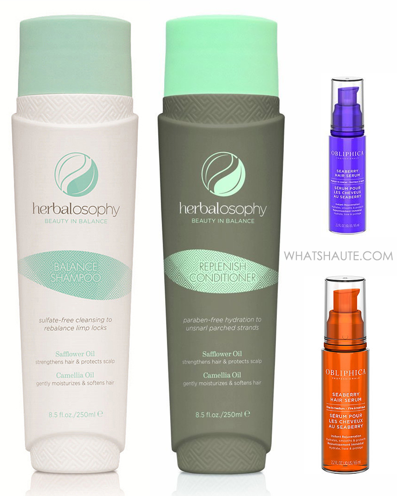 Shiny, Healthy Summer Hair With Herbalosophy, Obliphica and Magic Sleek