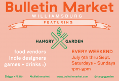 What to Do This Weekend: Visit Bulletin Market in Williamsburg