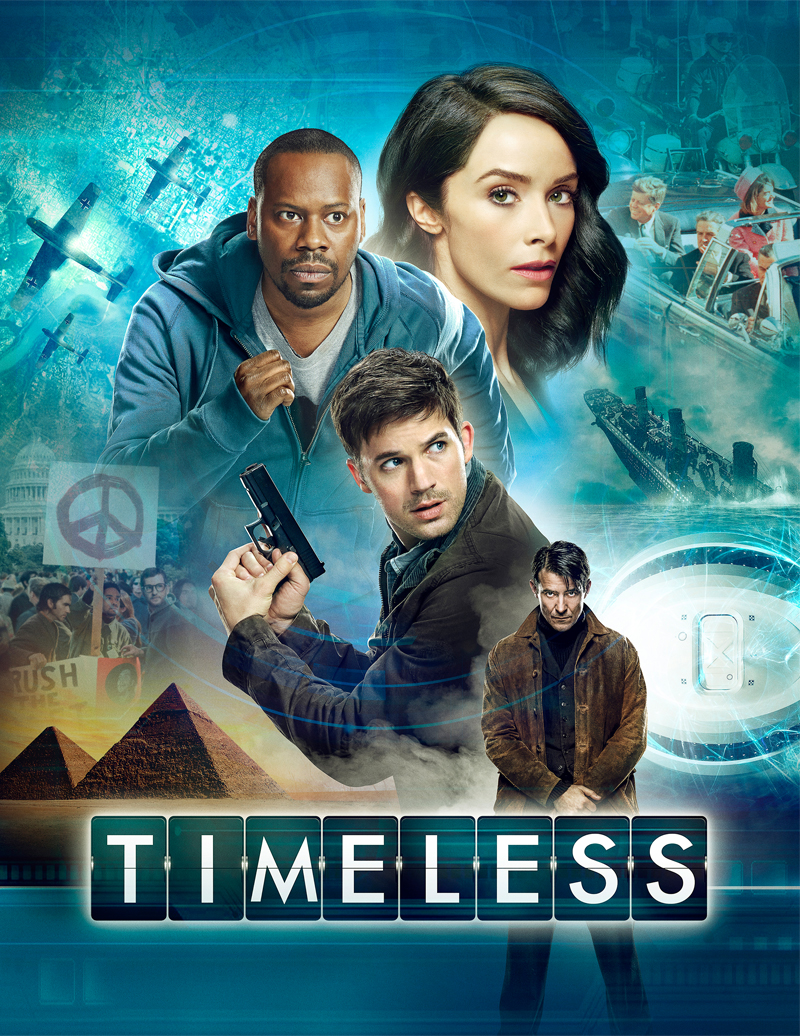Interview with Abigail Spencer from Timeless on NBC