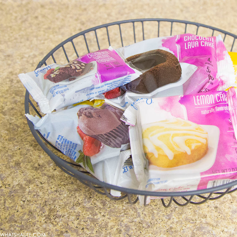 Getting on Track with Jenny Craig desserts