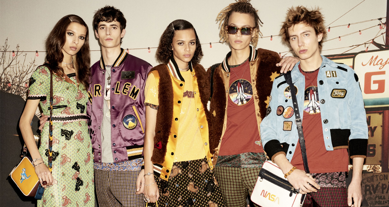 Coach debuts Fall 2017 Pre-Fall 2017 women's and men's
