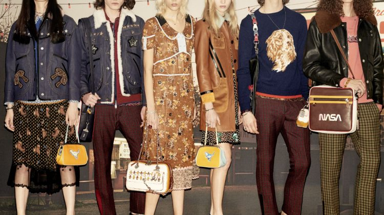 Coach debuts Fall 2017 Women's and Men's Collections, Inspired by Great America