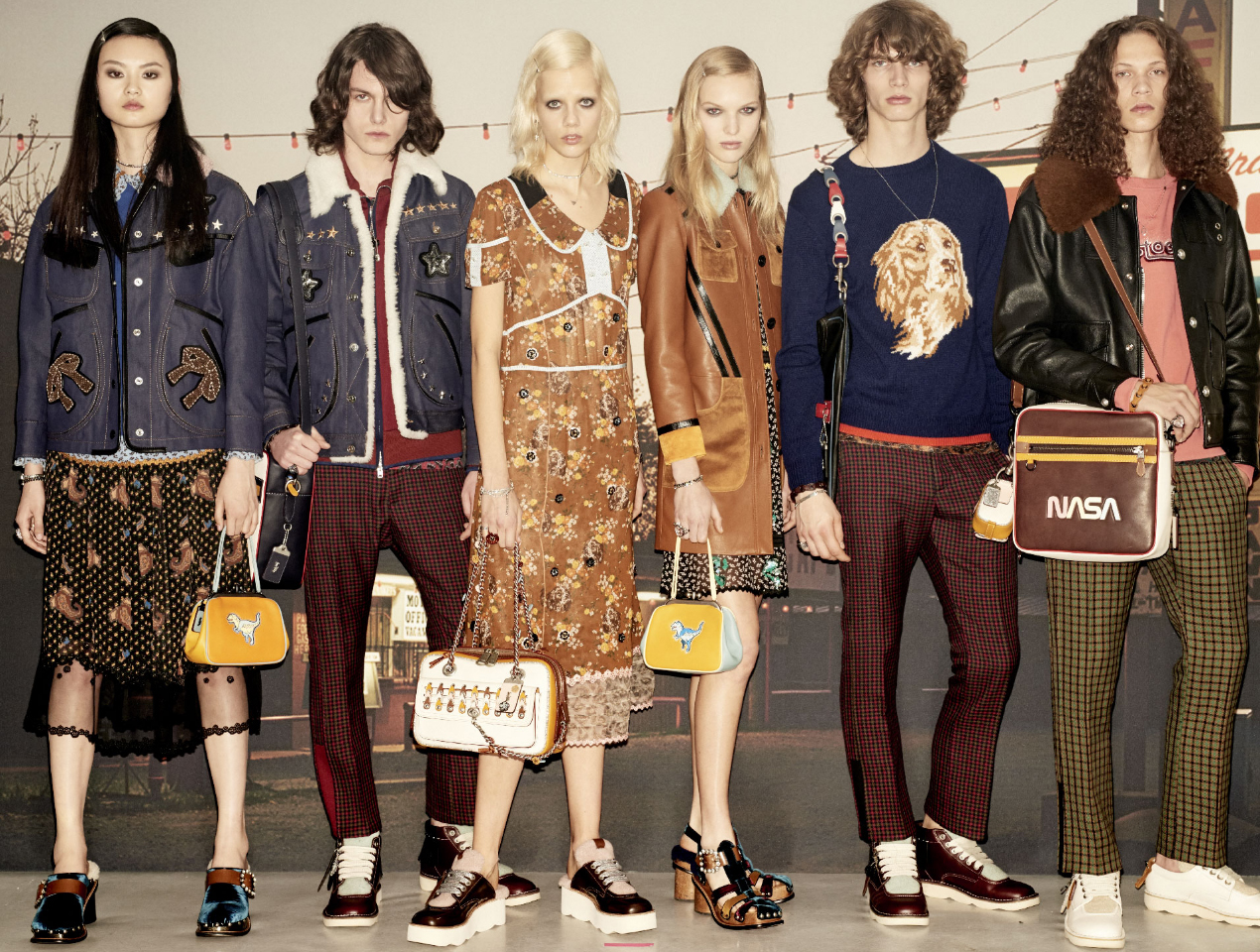 Coach debuts Fall 2017 and Pre-Fall 2017 women's and men's