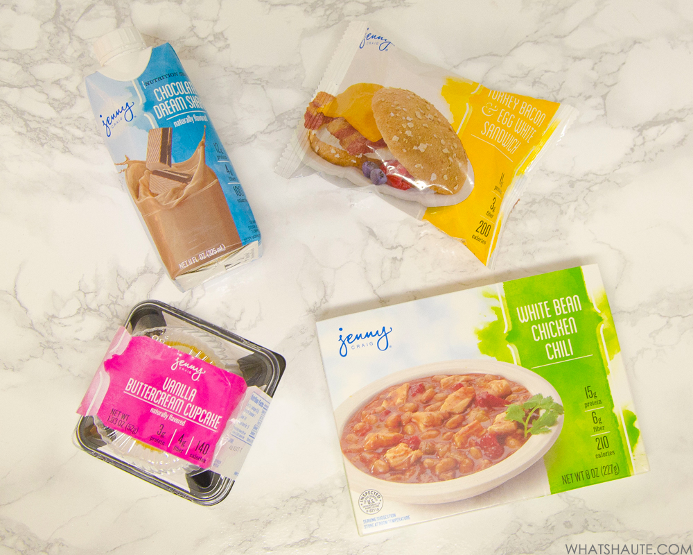 Making Better Choices with Jenny Craig, My review of Jenny Craig - Chocolate dream shake, waffles, chili, cupcake