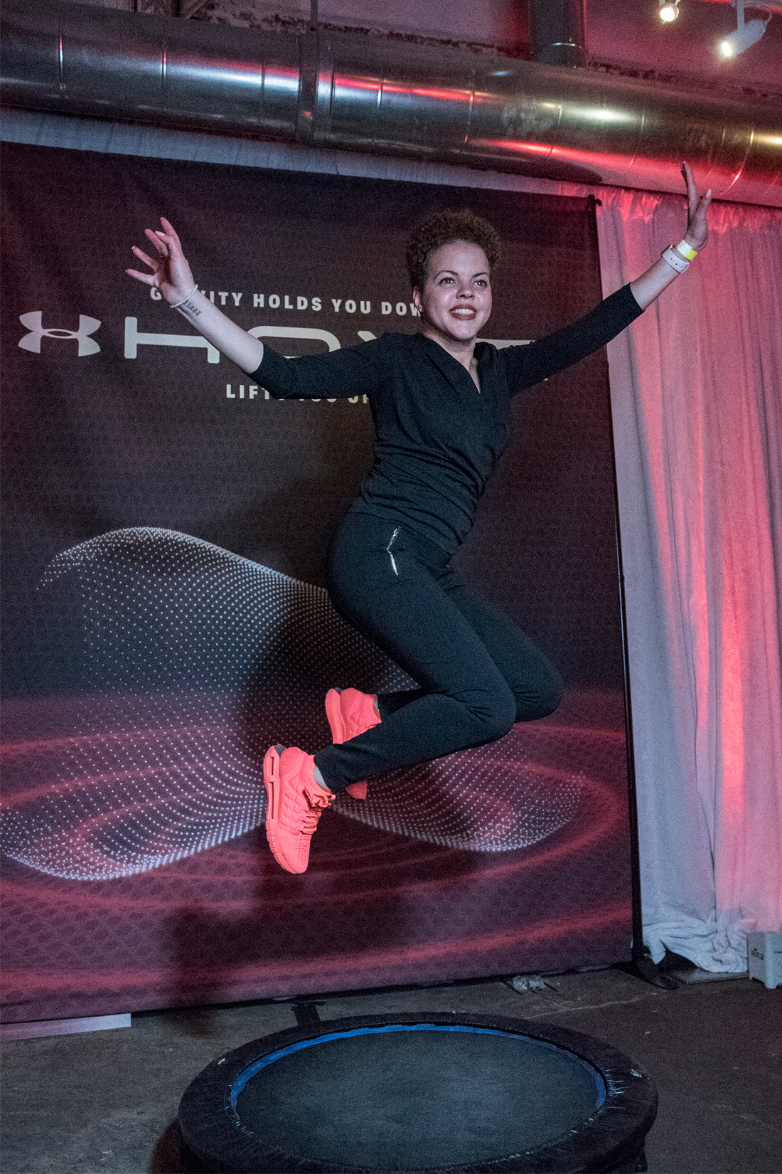 UA HOVR Trampoline-photobooth-Under-Armour-HOVR-Party_