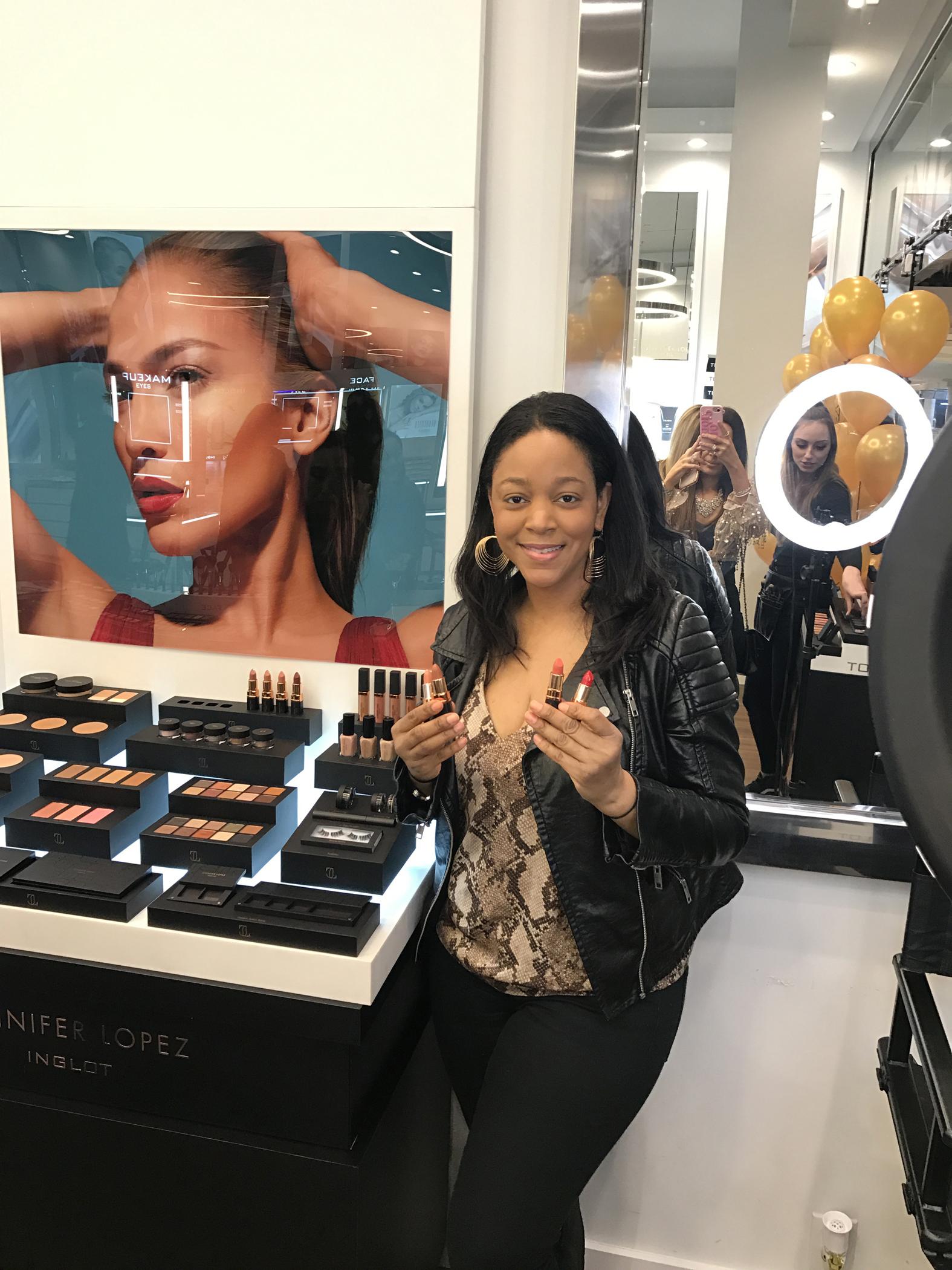 JLo x INGLOT Cosmetics launch