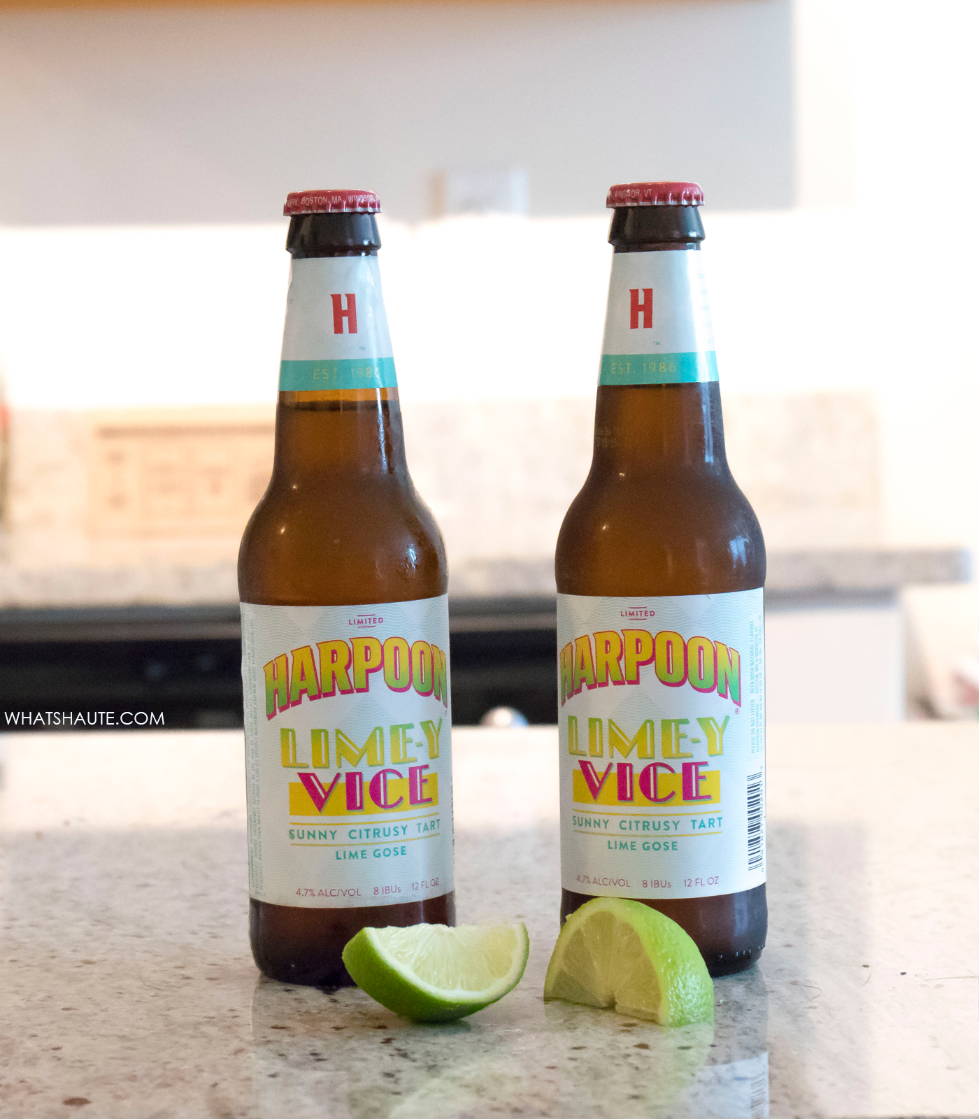 Harpoon Brewery Lime-y Vice Lime Gose style beer