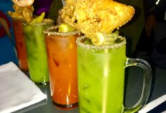 What's Haute at Roy Boys DC, Restaurant review, Fried Chicken and Oysters, Bloody Mary