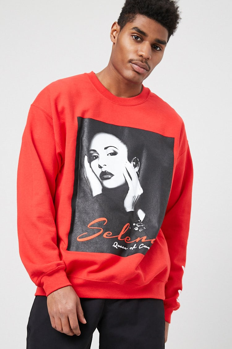 Fleece Selena Graphic Sweatshirt