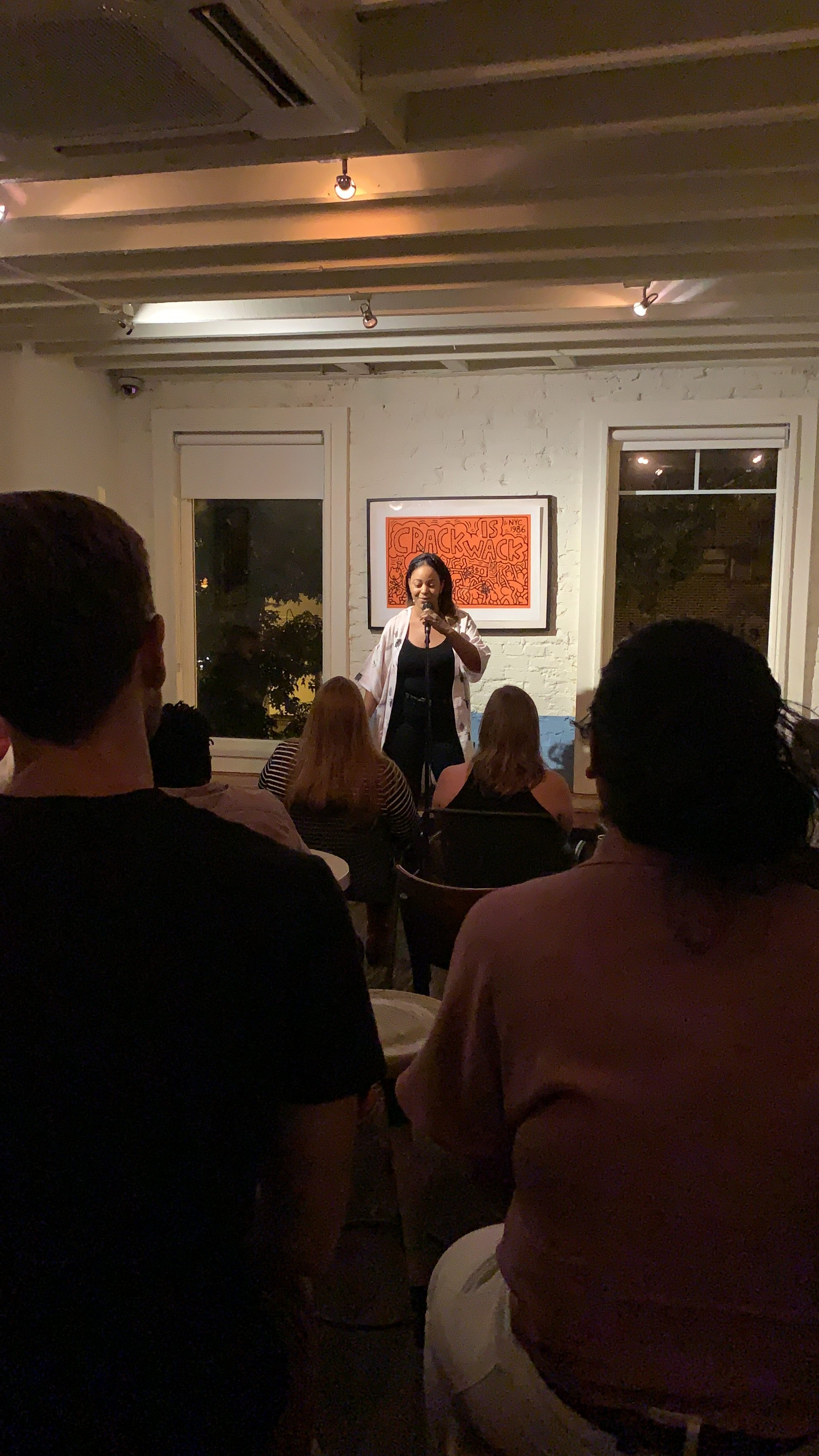 My Haute Girl / Hot Girl Summer, Performing standup comedy