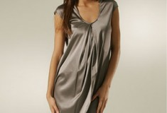 Vince Silk Charmeuse Dress