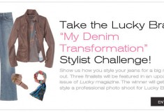 Lucky Magazine's Denim Transformation Challenge
