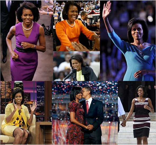 What's Haute Mag - Michelle Obama's fashion evolution and style