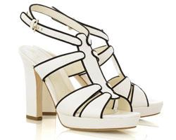 Sergio Rossi Monochrome platform sandals