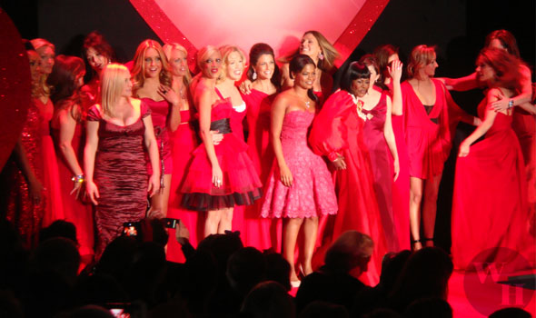 Heart Truth Red Dress Collection 2009 celebrities