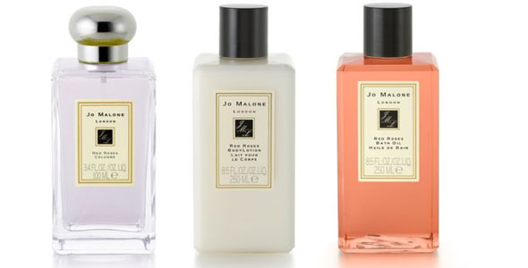 Jo Malone Red Roses Cologne Body Lotion And Body Oil