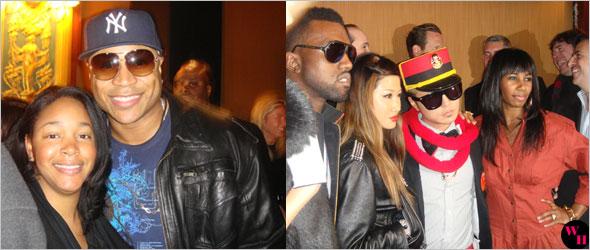 Tory Burch Fall 2009 Presentation LL Cool J Kanye West Ehmonie Hainey Santogold