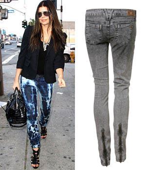 Jeans Zip Back