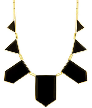 House of Harlow Plated Resin Necklace