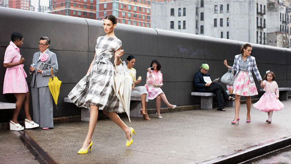 Isaac Mizrahi new collection for Liz Claiborne ad campaign