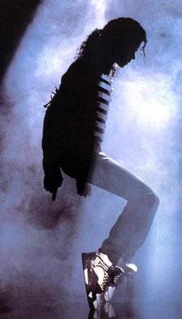 michael-jackson on stage