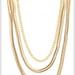 torrid gold-snake-chain-3-row-necklace