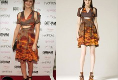 Haute or Not - Leighton Meester in Christopher Kane