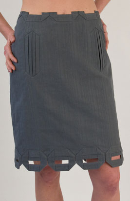 Twinkle Pencil Box Skirt