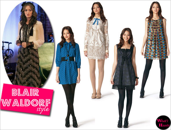 Anna Sui Target Go collection channels Gossip Girl Blair Waldorf leighton meester