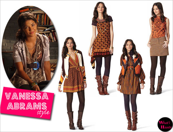 Anna Sui Target Go collection channels Gossip Girl vanessa abrams jessica szohr