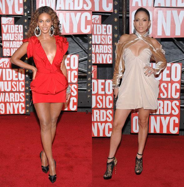 MTV Video Music Awards beyonce jennifer lopez