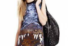 In My Haute Closet: Christopher Kane for Topshop Crocodile Print Dress