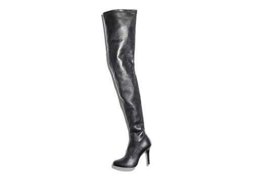 jimmy choo h&m over the knee boots