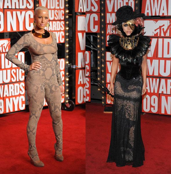 MTV Video Music Awards amber rose lady gaga