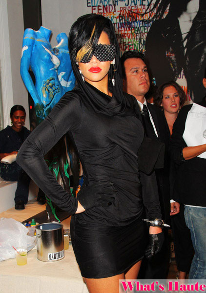Rihanna runs this town in Barracuda shades by A-Morir Kerin Rose