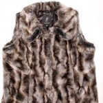 rachel zoe collection qvc NYFW new york fashion week show faux fur vests