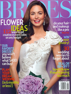 Brides Magazine Cover October 2009