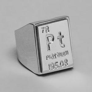 Lisa Freede Element Ring in Platinum