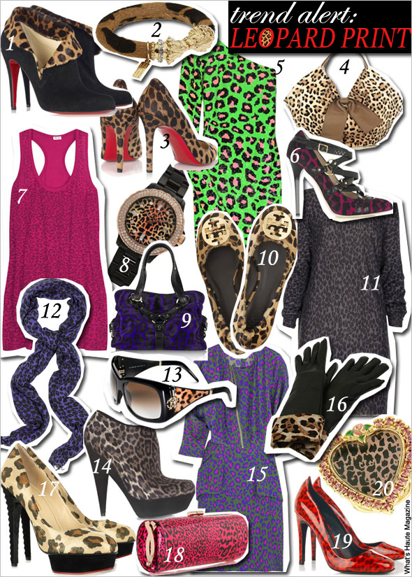 Trend alert leopard print clothes shoes handbags jewelry rihanna