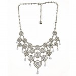 Carolee Crystal Bib Necklace