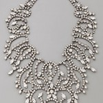 Kenneth Jay Lane Large Fancy Bib Necklace